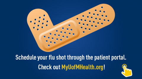 Flu Shot Spotlight graphic