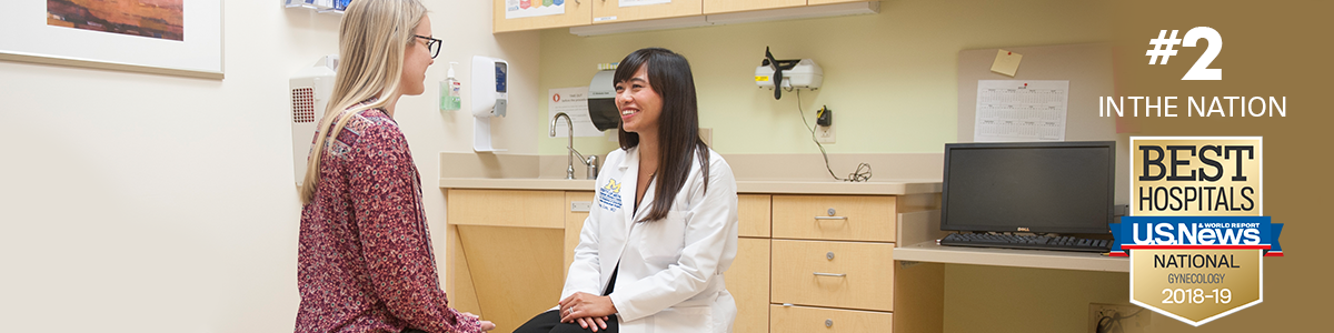 Michigan Medicine has been ranked #2 in the nation for Gynecology by U.S. News and World Report for 2018-19.
